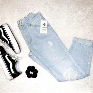 NWT American Bazi Boyfriend Jeans